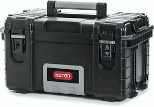Keter DIY Tool Storage 22 Inch Organizer DURABLE Box Black