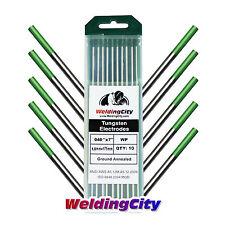 "10-pk TIG Welding Tungsten Electrode Pure (Green) .040""x7"" | US Seller Fast Ship"