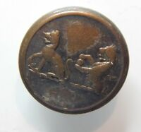 19th Century Livery Button Compton Roberts 26 mm