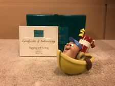 """WDCC Melody Time - Little Toot """"Tugging and Tooting"""" + Box & COA"""