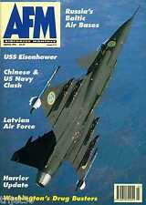 Air Forces Monthly 1995 March USS Kitty Hawk,USS Eisenhower,Argentine Mohawk