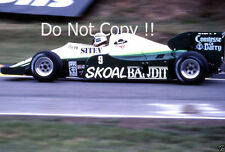 Philippe Alliot Skoal Bandit RAM 02 British Grand Prix 1984 Photograph