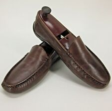 Giorgio Brutini Le Glove 688232 Brown Leather Driving Loafers Shoes Men's 13M US