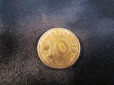 10 Reichspfennig 1937 D Coin Collector Terzo Impero Third Reich