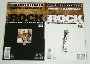 Vertigo Resurrected: Sgt. Rock #1-2 VF/NM complete series - joe kubert set lot