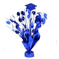 Blue Graduation Foil Centerpiece