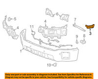 Cadillac GM OEM 08-15 CTS Front Bumper-Side Retainer Bracket Left 20831753