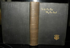 ** Uni Una! to the One God My One Soul! : Retreat Lectures .. 1926  HB, F. Meyer