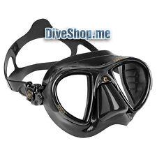 CRESSI NANO MASK BLACK Spearfishing freediving scuba diving low volume