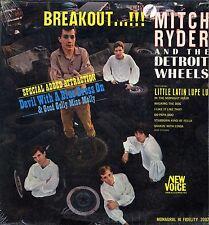 "MITCH RYDER & DETROIT WHEELS ""BREAKOUT...!"" ORIG US MONO 1966"