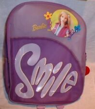 Barbie Lavender Smile Backpack NWT
