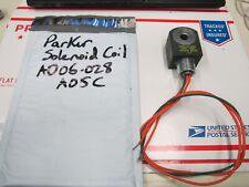 PARKER AF4C05 SOLENOID COIL 120/60 110/50 AD06-028-A05C NEW , F1