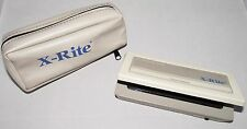 X-Rite 334 sensistometer DUAL COLOR EXPOSURE portatile + Custodia xrite