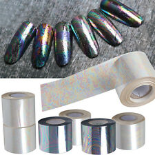 6 Roll/Set DIY Nail Art Foil Paper Gradient Starry Sky Manicure Sticker Tips