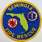 """Seminole Fire Rescue Pinellas County Florida FL Patch (I5) 3"""""""