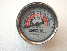 Fordson Major 1958-62 Tachometer/Tractormeter 80mm E1ADDN17360A ,66848 Clockwise