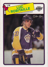 1988-89 O PEE CHEE LUC ROBITAILLE #124 OPC