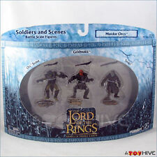 Lord of the Rings Armies Middle of Earth LOTR AOME Mordor Orcs 3 figure set pack