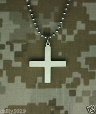 GI JEWELRY, Official US MILITARY, GREEK CROSS Pendant