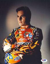 Jeff Gordon Signed 8X10 PSA/DNA COA Photo Auto Autographed Autograph PSA Pose 2