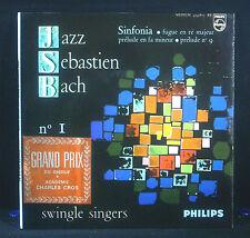 "7"" SWINGLE SINGERS - jazz sebastian bach, Philips 434.875 BE"