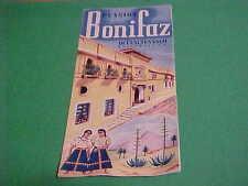 VINTAGE TRAVEL/TOURIST FOLDER/BROCHURE PENSION BONIFAZ QUEZALTENANGO GUATEMALA