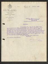 """BEAUNE & CHASSAGNE-MONTRACHET (21) VIN """"P. de MARCILLY Freres Propriétaire"""" 1921"""