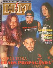 HM 153 1993 Sepultura Dan Reed Mindfunk Deep Purple Quick Sand Fast Eddie Clarke