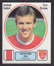 Panini - Football 82 - # 16 Graham Rix - Arsenal