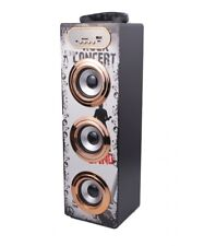 Altavoz Torre Karaoke Portatil Multimedia Bluetooth USB Micro SD Radio FM MP3/P4