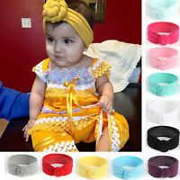 Kids Girls Baby Toddler Turban Knot Headband Hair Band Accessories Headwear Cute