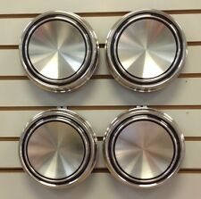 1967-1969 Mustang Torino Cougar Blank Stainless Steel Hubcap Center Cap SET of 4