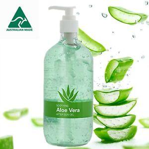 Aloe Vera gel. Australian made, quick postage **BIG 500ml bottle, 250ml & 125 ml
