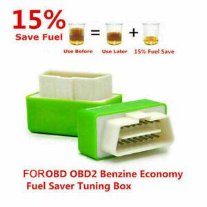 Eco OBD OBD2 Economy Fuel Saver Tuning Box Chip For Petrol Car Gas Saving Z2H6Y