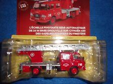 n° 87 CITROEN 450 Camion Pompiers des Sapeurs-Pompiers du FINISTERE  1/43 Neuf