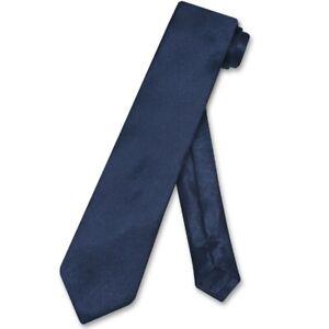Biagio Boys NeckTie Solid NAVY BLUE Color Youth Neck Tie