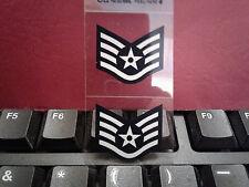 STICKER (DECAL)- U. S. AIR FORCE STAFF SERGEANT