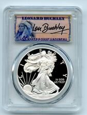 2020 W $1 Proof Silver Eagle PCGS PR70DCAM First Strike Leonard Buckley