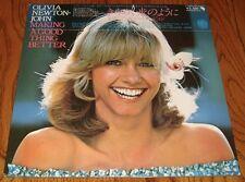 OLIVIA NEWTON JOHN MAKE A GOOD THING BETTER ORIGINAL JAPANESE LP WITH OBI 1977