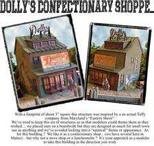 Bar Mills 1240 HO Dolly's Confectionery Shoppe Building Laser-Cut Wood Kit