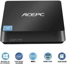 ACEPC Mini PC Windows 10 Pro Intel Atom x5-Z8350 Processor 4GB RAM 64GB ROM EMMC