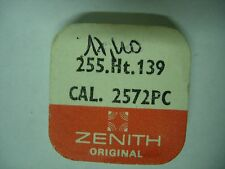 piéce part zenith 2572 PC 255 . Ht . 139 canon montre watch swiss 18