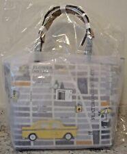 NWT KATE SPADE Nouveau York New York Francis Street Map Taxi Cab Tote Bag Purse