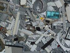 Lego ® 1 kg Gris 600-700 pièces star wars TECHNIC Castle Plaques Space pierres r201