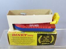 "DINKY TOYS MODEL No.290  S.R.N.6  HOVERCRAFT  ""  METALLIC RED VERSION "" VN MIB"