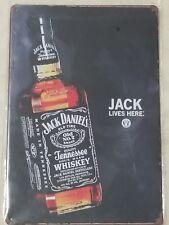 Jack Daniels Tin Sign Whiskey Retro Vintage Style Advertising Bar Home Decor New