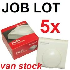 Job Lot x5 Honeywell T4360 Frost Thermostat Brand New Boxed VAN STOCK