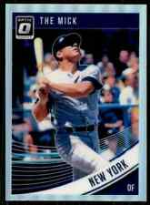 2018 Donruss Optic Prizm Mickey Mantle New York Yankees #165