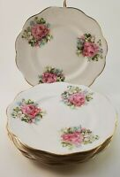 Vintage CP Co Dixie Salad Plates Dessert Plate Bread Plate Set of 6 Ironstone