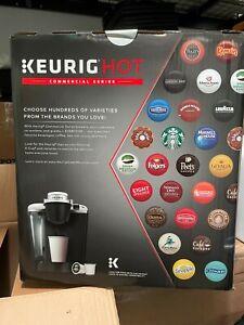 COFFEE K-CUP VENDING SYSTEM. INCLUDES K-CUP VENDING MACHINE/KEURIG BREWER/CADDY